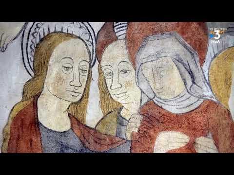 Les Mystères de l'Art - Les fresques de l'église Saint Eutrope