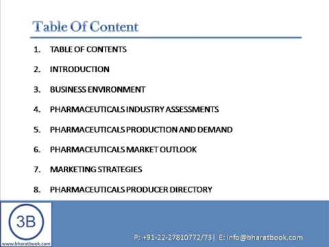 Bharat Book Presents : Pharmaceuticals Markets in China