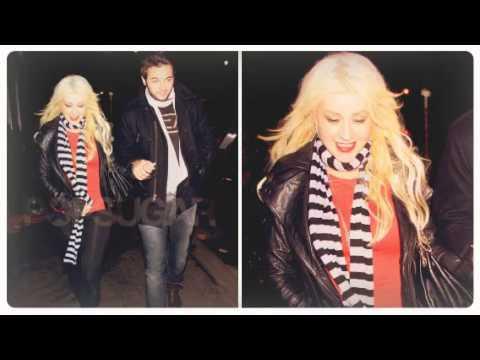 Christina Aguilera y Matt Rutler (By Xtina Argentina Fans)