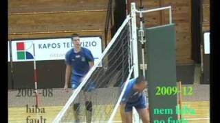 FIVB Net Rule Modifications