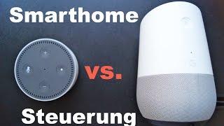 Amazon Echo vs. Google Home: SmartHome Steuerung!! #3