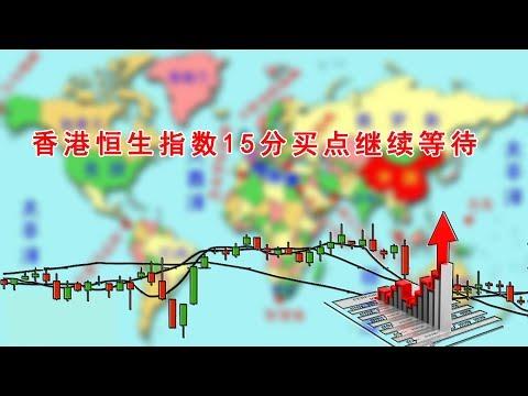 香港恒生指数15分买点继续等待(202005230945)
