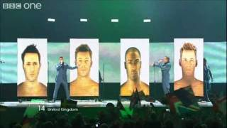 "UK: ""I Can"", Blue Eurovision Song Contest Final 2011"