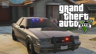 GTA 5 Online: Undercover Cop Car & How To Store Police
