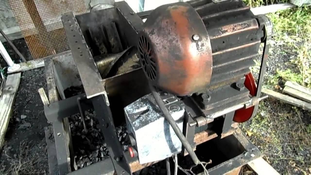 Дробилка для угля своими руками изготовить