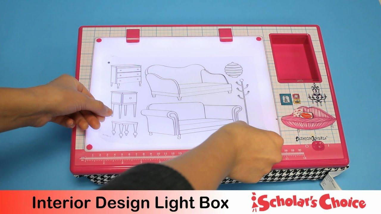 Fashion Angels Interior Design Light Box