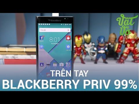 Vật Vờ| Trên tay Blackberry Priv cũ: huyền thoại cuối của Dâu Đen?