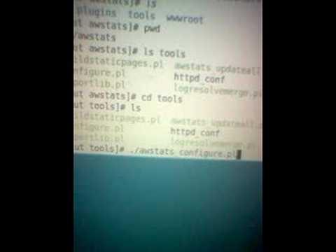 Setup Linux Awstats
