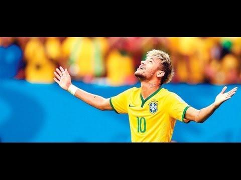 Neymar Jr. World Cup 2014 Best Moments and Goals