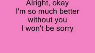 Ashley Tisdale It's Alright It's Okay Lyrics
