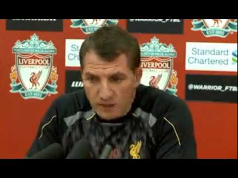 Liverpool vs Tottenham Hotspur Brendan Rodgers press conference