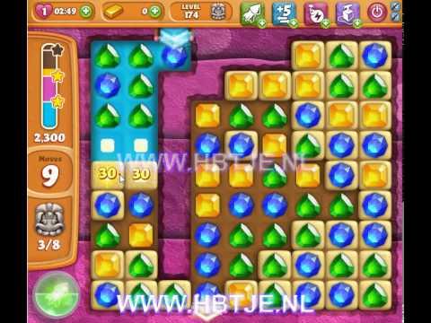 Diamond Digger Saga level 174