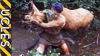 Wild Animals Caught Barehanded ..