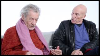 Ian McKellen and Patrick Stewart Interview Each Other about Star Trek, LotR and Broadway