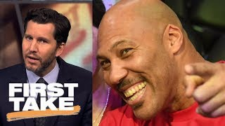 Will Cain compares LaVar Ball to Beanie Babies   First Take   ESPN