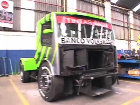 Bastidores - Volkswagen Caminhões e Ônibus na Fórmula Truck 2009