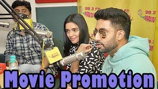 Abhishek Bachchan & Asin promote All Is Well