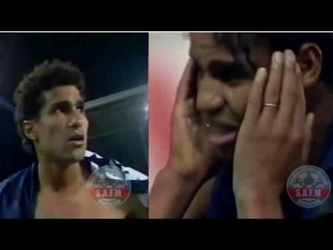 بكاء لاعبي المنتخب المغربي بعد المؤامرة الشهيرة في مونديال 98