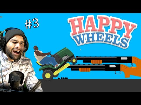 Cant Escape This Shot Gun( Happy Wheels #3 )   Funniest Game Ever