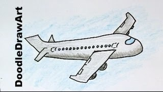 ללמוד לצייר מטוס