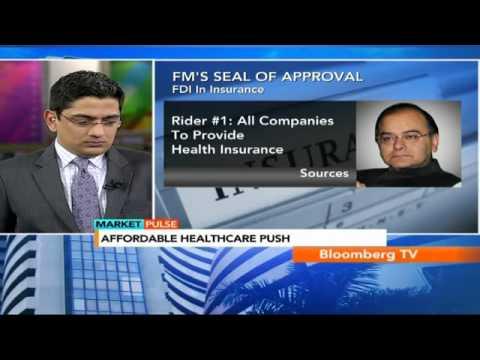 Market Pulse: FM Backs 49% FDI In Insurance