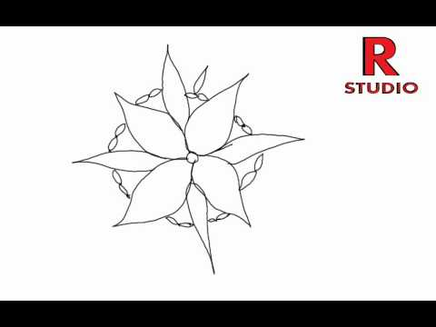 Learn new rangoli designs (kolam) episode 130