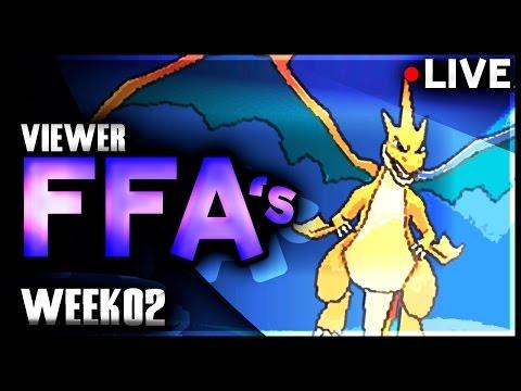Pokémon X&Y LIVE FFAs w/ Viewers! [Week 2]