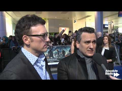 Anthony and Joe Russo (Directors) interview at Captain America: The Winter Soldier premiere