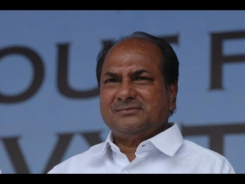 Defence Minister AK Antony's olive branch to the Left