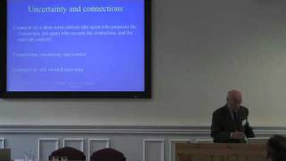 Roberto Scazzieri: Connections, Reasons and the Social Economy