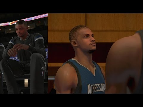 NBA 2K15 PS4 My Career - Animations & 1st Game!