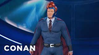 Conan's Superhero Persona Gets an Upgrade at Comic-Con