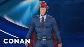 Conan's Superhero Persona Gets an Upgrade at Comic-Con