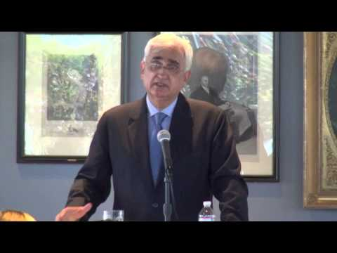 A Conversation with Indian Foreign Minister Salman Khurshid