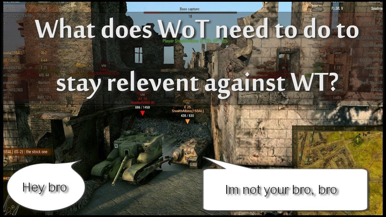 World of tanks vs war thunder can wg step up to what gaijin has in