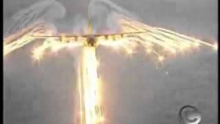aparição de anjo atrás de avião no Brasil?