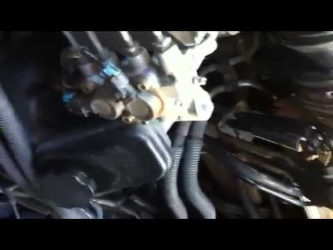 how to find exhuast leak sr20