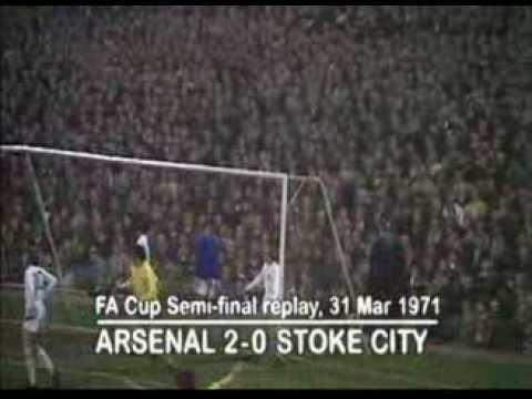 Arsenal 2 Stoke 0 1971
