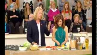 Yemek Takımı 06.11.2013 Makarna Salatası Tarifi canlı yapılışı