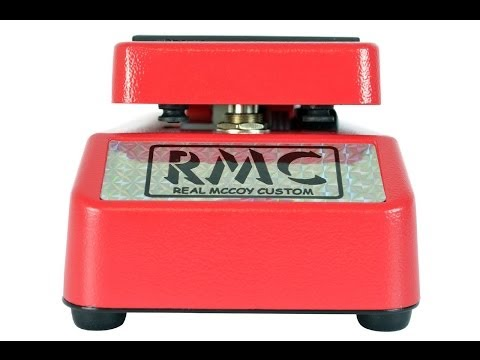 Real McCoy Custom RMC5 Wizard Wah