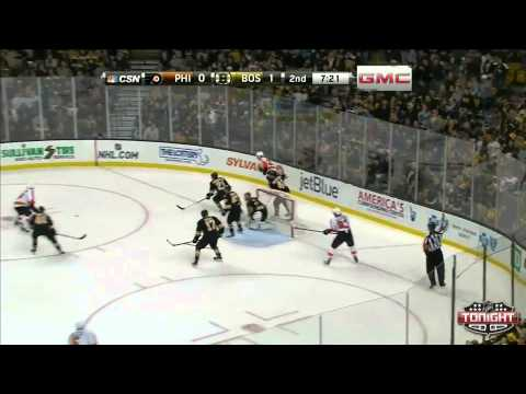 Bruins at Flyers Game Highlights NHL VideoCenter Philadelphia Flyers