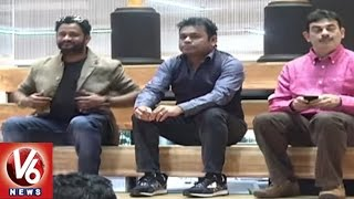 Music Director AR Rahman Visits T-Hub | Interacts With Startup Entrepreneurs