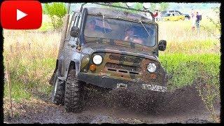 Заряженный УАЗ против Suzuki Vitara. Полный Привод 4х4 - Офф Роуд Видео.