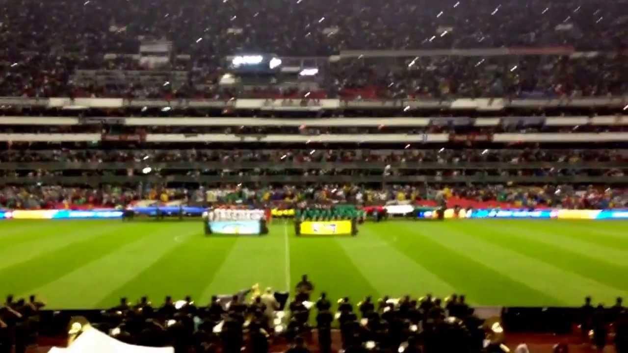 Estadio azteca desde el freedom youtube for Puerta 1 estadio azteca
