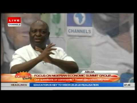Sunrise Daily: Ike Onyechere Speaks on Nigeria Economic Summit