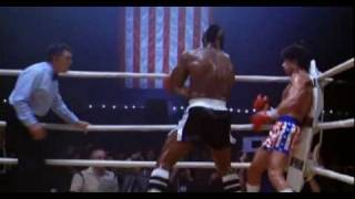 "Rocky 3. Rocky Balboa Vs Clubber Lang.""You Aint Nothing"