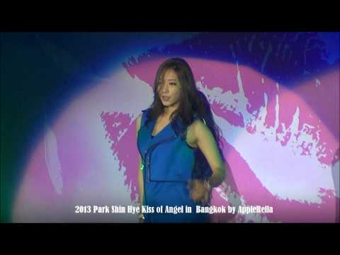 062913 Park Shin Hye Kiss of Angel Fanmeet in Bangkok: Sexy dance