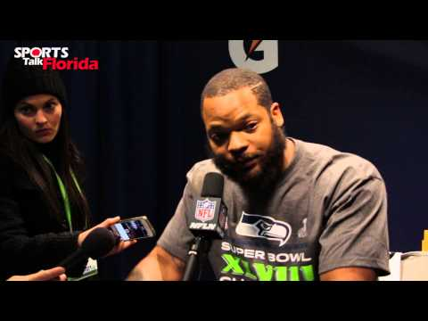 Super Bowl XLVII: Seattle Seahawks Michael Bennett Calls out Marshall Faulk