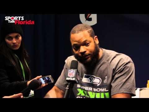 Super Bowl XLVII: Seattle Seahawks Michael Bennett Calls out Marshall Faulk