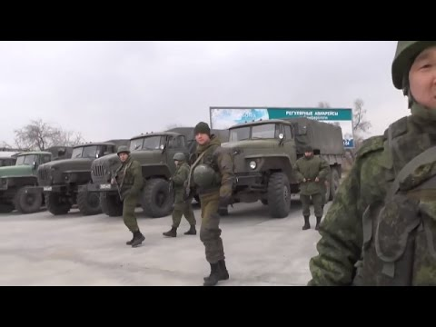 Russian soldiers in Crimea were interviewed Vladimir Putin's statement refuting
